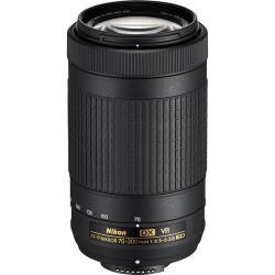 Lenses and Accessories - Nikon AF-P DX NIKKOR 70-300mm f/4.5–6.3G ED VR telephoto lens rental