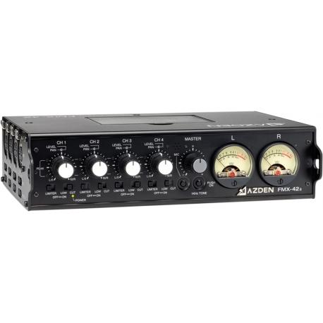 Audio Video mixer - AZDEN AUDIO MIXER 4 CHANNEL FMX 42A FMX-42A - быстрый заказ от производителя