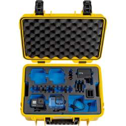 Кофры - BW OUTDOOR CASE TYPE 4000 YELLOW FOR GOPRO HERO 8 WATERPROOF HOUSINGS BATTERIES DUAL CHARGER SUPE 4000/Y/GOPRO8 - быстрый заказ от производителя