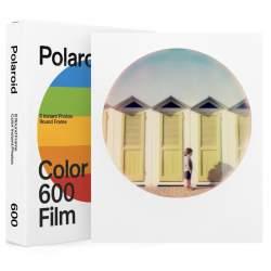Картриджи для инстакамер - POLAROID COLOR FILM FOR 600 ROUND FRAME 6021 - купить сегодня в магазине и с доставкой