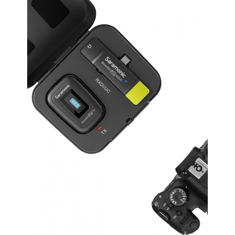 Mikrofoni - SARAMONIC BLINK 500 PRO B5 2,4GHZ WIRELESS W/ USB-C BLINK 500 PRO B5 - perc šodien veikalā un ar piegādi