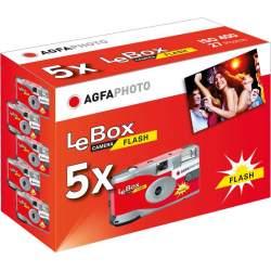 Filmu kameras - LeBox Single use cameras ISO400 27 shots Flash 5x pack - купить сегодня в магазине и с доставкой