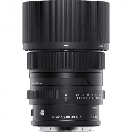 Objektīvi un aksesuāri - Sigma 65mm F2.0 DG DN objektīvs Contemporary uz Sony E-mount noma noma