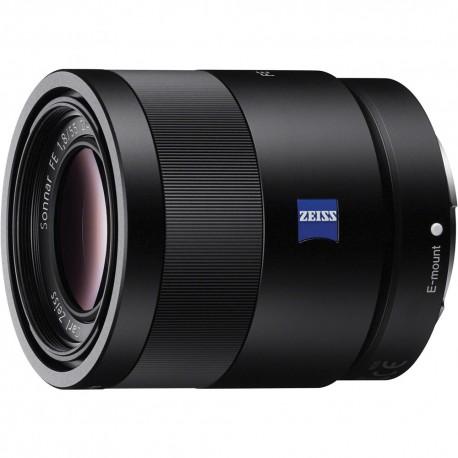 Objektīvi un aksesuāri - Sony Sonnar T* FE 55mm f/1.8 ZA objektīvs E-mount FullFrame noma noma