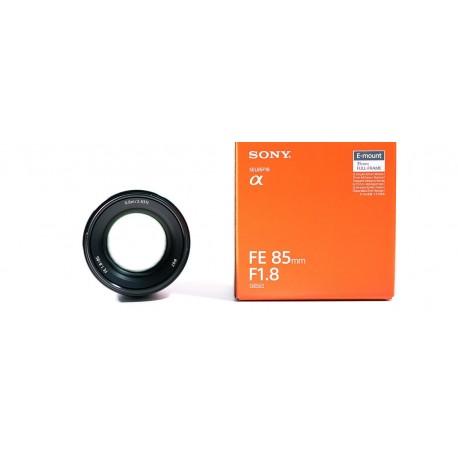 Objektīvi un aksesuāri - Sony FE 85mm f/1.8 portretu objektīvs E-Mount SEL-85F18 noma
