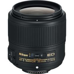 Lenses and Accessories - Nikon AF-S NIKKOR 35mm f/1.8G ED Nikkor FullFrame DX lens rental