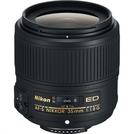 Objektīvi un aksesuāri - Nikon AF-S NIKKOR 35mm f/1.8G ED Nikkor pilnas matricas FX objektīvs noma
