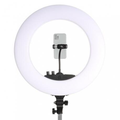 Кольцевая лампа LED - StudioKing LED Ring Lamp Set 48W LR 480 with Batteries - быстрый заказ от производителя