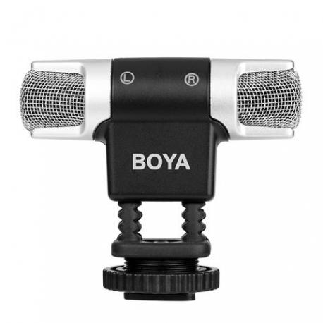 Микрофоны - Boya Dual Stereo Microphone BY MM3 - быстрый заказ от производителя