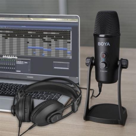 Микрофоны - Boya Headphone BY HP2 Studio Microphone BY PM700 - быстрый заказ от производителя