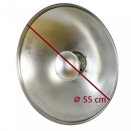 Рефлекторы - StudioKing Beauty Dish SK-BD550 55 cm for Falcon Eyes - быстрый заказ от производителя