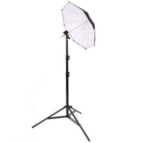Зонты - StudioKing Strobist Kit with Light Stand KBW-80 - быстрый заказ от производителя