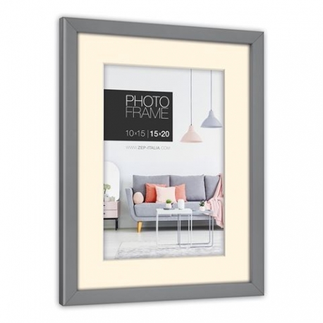 Фото подарки - Zep Photo Frame NP68G Edison Grey 10x15 / 15x20 cm - быстрый заказ от производителя