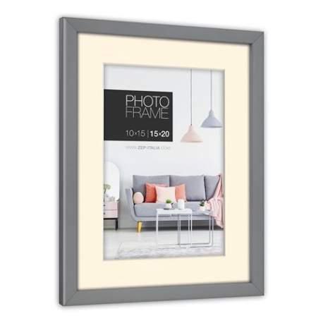 Фото подарки - Zep Photo Frame NP23G Edison Grey 15x20 / 20x30 cm - быстрый заказ от производителя