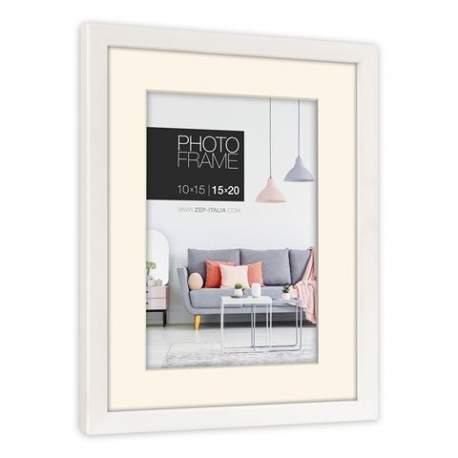 Фото подарки - Zep Photo Frame NP68W Edison White 10x15 / 15x20 cm - быстрый заказ от производителя