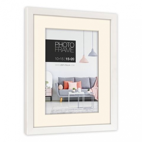 Фото подарки - Zep Photo Frame NP23W Edison White 15x20 / 20x30 cm - быстрый заказ от производителя