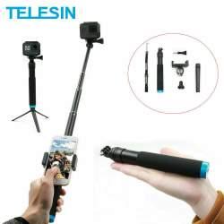 Telesin Selfie Aluminum monopod with aluminum trip