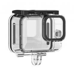 Action kameru aksesuāri - Telesin 45m waterproof case for GoPro Hero 9 HERO10 - perc šodien veikalā un ar piegādi
