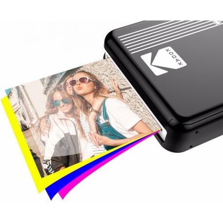 Printeri un piederumi - Kodak photo printer Mini 2 Plus Retro, black P210RB - быстрый заказ от производителя