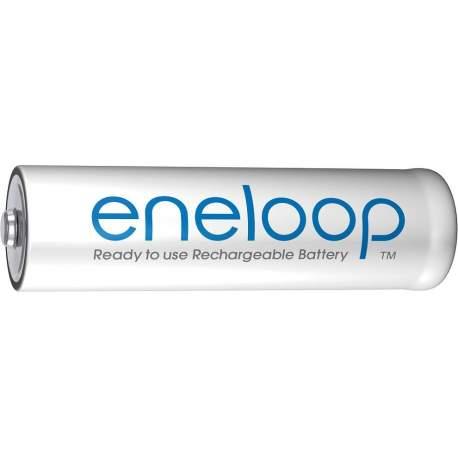 Батарейки и аккумуляторы - Panasonic Batteries Panasonic eneloop аккумуляторные батарейки AA 1900 4BP BK-3MCCE/4BE - купить сегодня в магазине и с доставкой