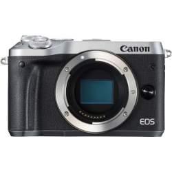 Bezspoguļa kameras - Canon EOS M6 body Silver - ātri pasūtīt no ražotāja