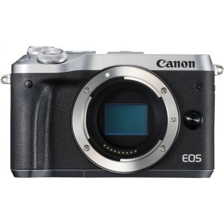 Беззеркальные камеры - Canon EOS M6 body Silver - быстрый заказ от производителя