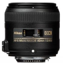 Objektīvi - Nikon AF-S DX Micro NIKKOR 40mm f2.8G - ātri pasūtīt no ražotāja