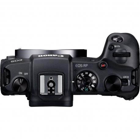 Objektīvu adapteri - Canon EOS RP + RF 24-105mm F4-7.1 IS STM + Mount Adapter EF-EOS R - ātri pasūtīt no ražotāja