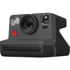 POLAROID NOW E-BOX BLACK komplekts ar filmiņu paku