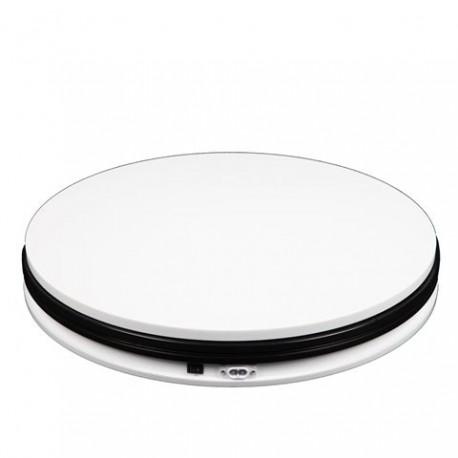 Foto aksesuāri - 360 grādu rotejošs galdiņš Mini Turntable T360-A1 45cm up to 40 Kg noma