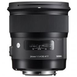 Lenses and Accessories - Sigma 24mm f/1.4 DG HSM Art wide lens for Sony E-Mount rental