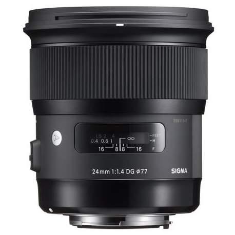 Objektīvi un aksesuāri - Sigma 24mm f/1.4 DG HSM Art platais objektīvs priekš Sony E-Mount noma