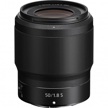 Objektīvi un aksesuāri - Nikon NIKKOR Z 50mm f/1.8 S pilnas matricas objektīvs noma