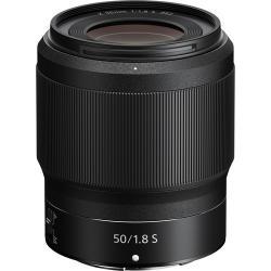Объективы и аксессуары - Nikon NIKKOR Z 50mm f/1.8 S объектив на полный кадр на Никон аренда