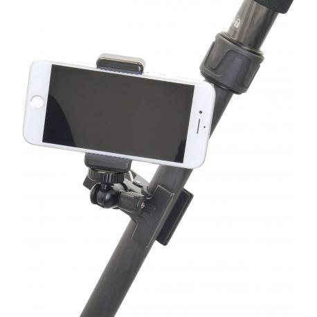 Viedtālruņiem - Velbon CHD-22 clip head with smartphone holder - perc šodien veikalā un ar piegādi