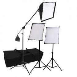Fluorescējošās - StudioKing SB03 3x135W 3x 50x70cm dienas gaismu komplekts - perc šodien veikalā un ar piegādi