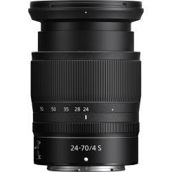 Lenses and Accessories - Nikon 24-70mm f/4 S NIKKOR Z mount lens rental