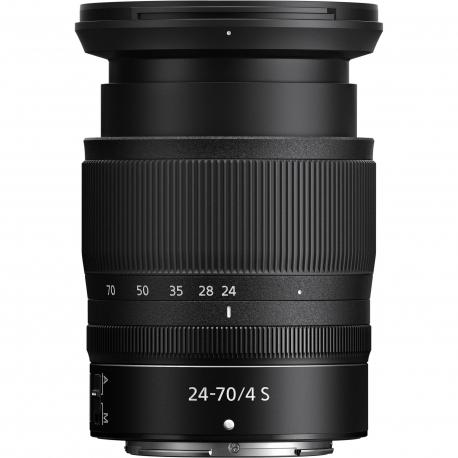 Objektīvi un aksesuāri - Nikon 24-70mm f/4 S NIKKOR Z sērijas objektīvs noma