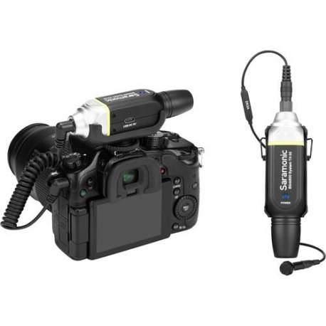 Mikrofonu aksesuāri - Saramonic Blink800 B1, 5.8GHz durable metal wireless lavalier system - perc šodien veikalā un ar piegādi