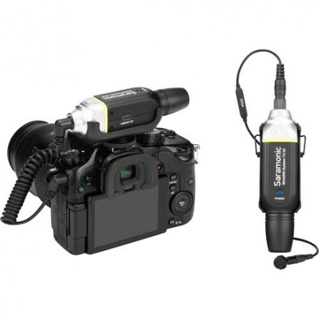 Saramonic Blink800 B1, 5.8GHz durable metal wireless lavalier system