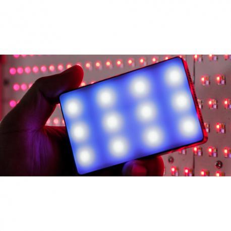 Aputure Amaran AL-MC RGBWW uz-ameras LED lukturis noma