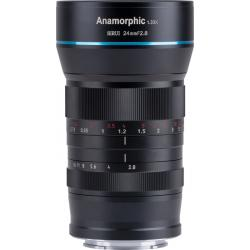 Lenses and Accessories - SIRUI ANAMORPHIC lens 1,33X 24mm 2.8 Sony E-mount SR24-E rental
