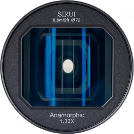 Objektīvi un aksesuāri - SIRUI ANAMORPHIC objektīvs 1,33X 24mm 2.8 uz Sony E-mount SR24-E noma