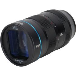 Lenses and Accessories - Sirui Anamorphic Lens 1,33x 75mm 1.8 Sony E-Mount rental