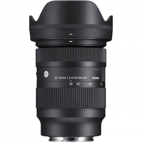 Objektīvi un aksesuāri - Sigma 28-70mm F2.8 DG DN priekš Sony E-mount noma