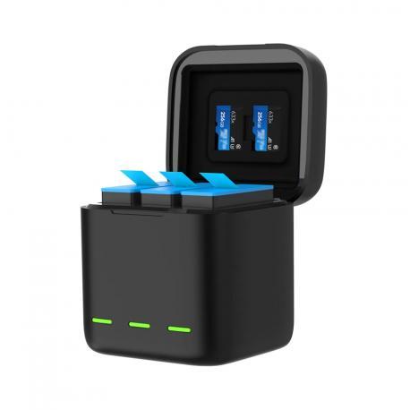 Telesin 3-SLOT Charger box for GoPro Hero 9