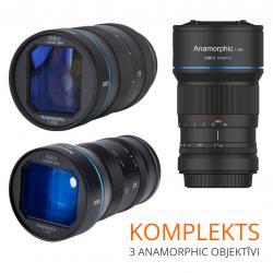 Lenses and Accessories - SIRUI ANAMORPHIC LENS 1,33X 50MM 1,8 E-MOUNT SR-MEK7E RENT