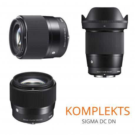 Objektīvi un aksesuāri - Sigma 16mm F1.4 DC DN Sony E-mount noma