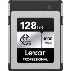 Atmiņas kartes - LEXAR CFEXPRESS PRO SILVER SERIE R1000W600 128GB LCXEXSL128G-RNENG - ātri pasūtīt no ražotāja