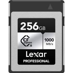 Карты памяти - LEXAR CFEXPRESS PRO SILVER SERIE R1000W600 256GB LCXEXSL256G-RNENG - купить сегодня в магазине и с доставкой